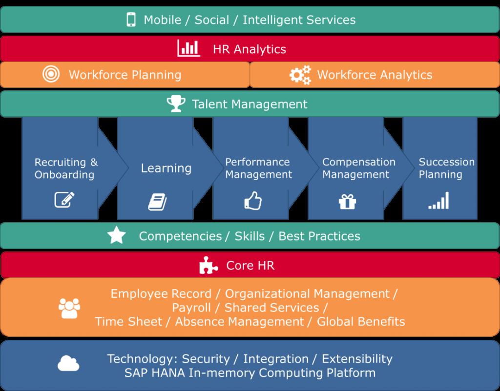 SAP SuccessFactors Suite Modülleri