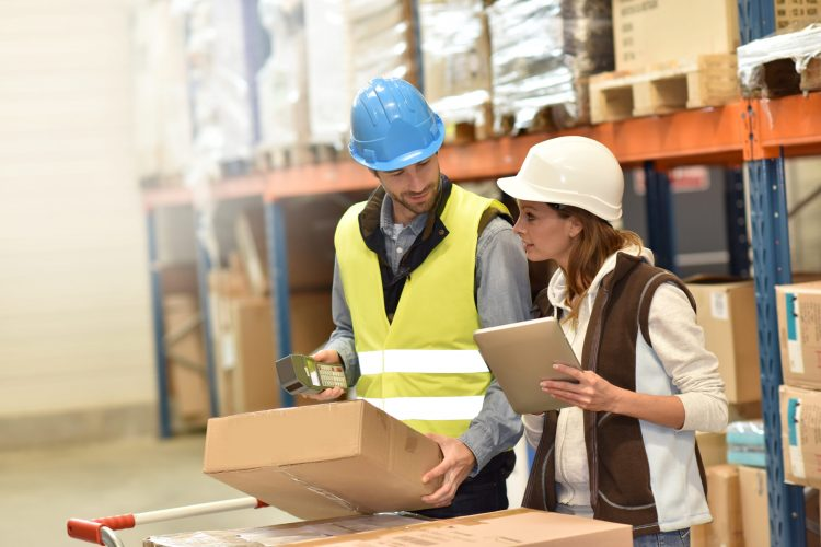 Store,Manager,With,Warehouseman,Checking,Stock,Levels